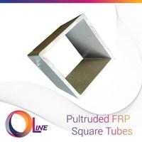 FRP Square Tubes (Fiberglass Reinforced Plastics)