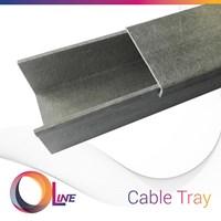 OLine Cable Tray (fiberglass reinforced plastics)