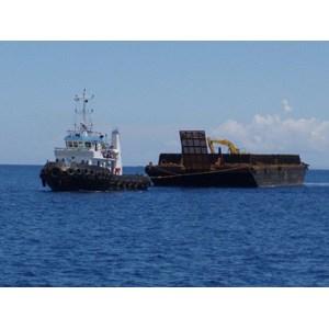Penyewaan Kapal Tongkang 230 feet Surabaya -  Banjarmasin By Khatulistiwa Mandiri Logistik