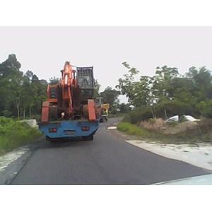 Jasa Angkutan Alat Berat Murah  By PT. Khatulistiwa Mandiri Logistik