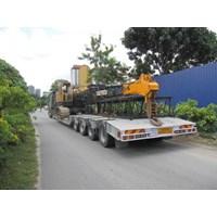 Angkutan Alat Berat Murah Surabaya/Jakarta By Khatulistiwa Mandiri Logistik