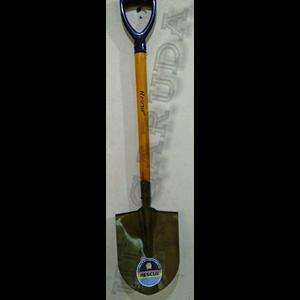 Dari sekop gagang kayu handle PVC 0