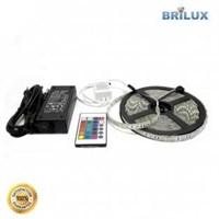 Paket Ska Strip D  (Lampu Led Strip Rgb + Adaptor + Remote )