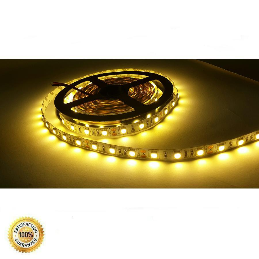 Jual Lampu Led Strip Smd5050 Warm White Non Waterproof