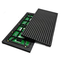 Lampu LED Modul P10 RGB SMD Full Color Outdoor Promo