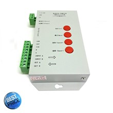 DMX 512 Controller 12V-24V + Lampu LED Display