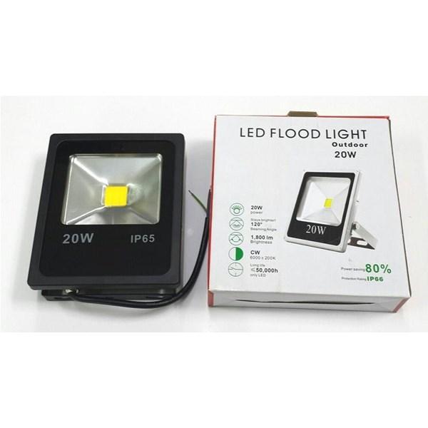Lampu LED FLOODLIGHT TEMBAK SLIM 20 WATT