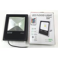 Lampu LED FLOODLIGHT TEMBAK SLIM 50 WATT RGB 1