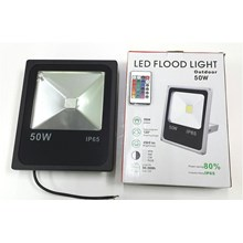 Lampu LED FLOODLIGHT TEMBAK SLIM 50 WATT RGB