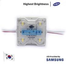LED Module Korea Samsung Anx 4 Mata Smd 5630 12V Waterproof dan Lensa