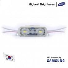 LED Module Korea Samsung Anx 2 Mata Smd 5630 12V Waterproof dan Lensa