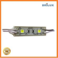 Lampu LED Module Sanan 2 Mata Smd 5050 12V Waterproof dan Resin