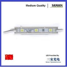 Lampu LED Module Sanan 3 Mata Smd 5050 12V Waterproof dan Resin