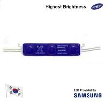Lampu LED Module Samsung ANX SMD2835 3 Mata Warna Biru