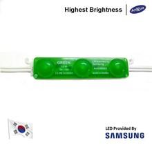 Lampu LED Module Samsung ANX SMD2835 3 Mata Warna hijau