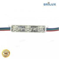 Lampu LED Brilux Module Korea SMD5050 3 Mata