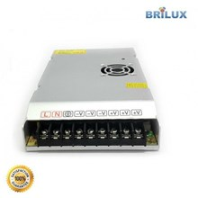Lampu Led Brilux Switching Power Supply DC 12V 16.7A 200W Slimest - Standar Quality
