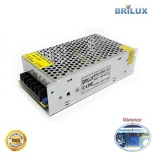 Lampu Led Brilux Switching Power Supply DC 12V 10A  120W - Super Quality
