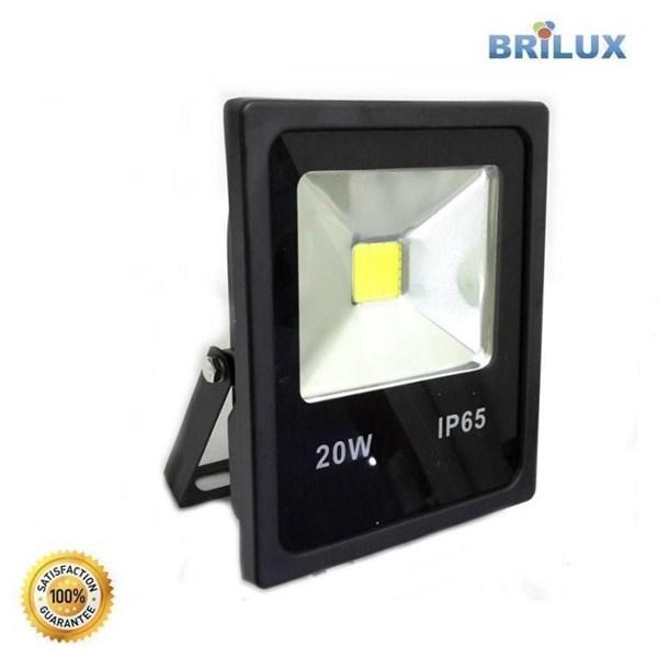 Lampu LED Floodlight Slim Brilux 20W AC 220V