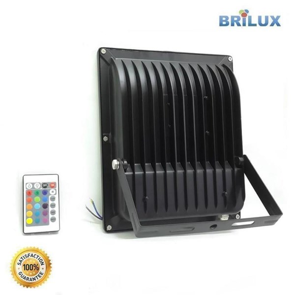 Lampu LED Floodlight Slim Brilux 50W AC 220V - RGB