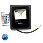 Lampu LED Floodlight Slim Brilux 10W AC 220V - RGB 1