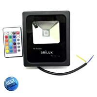 Lampu LED Floodlight Slim Brilux 10W AC 220V - RGB