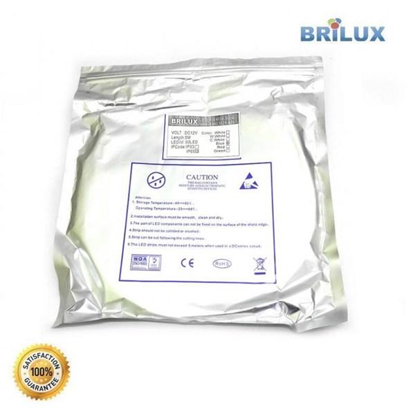 Lampu Led Brilux LED Strip SMD 2835 12V 300 LED - Outdoor IP68 Rubber Tube