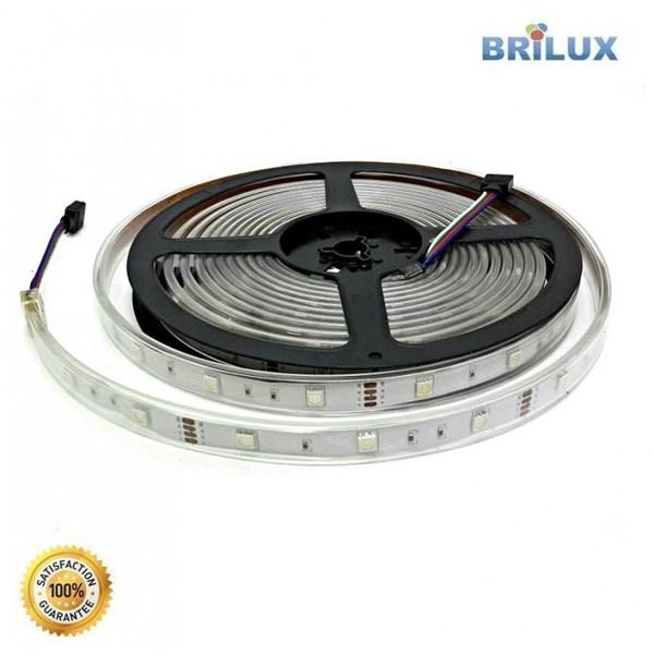 Lampu Led Brilux LED Strip SMD 5050 12V Outdoor IP68 Rubber Tube