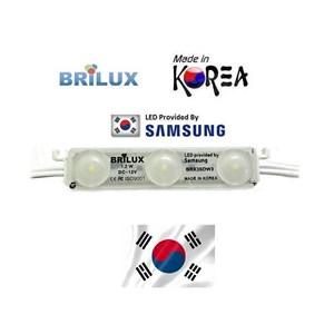 Lampu Led Brilux LED Module Samsung Korea SMD2835 Optic Dove - 3 Mata  White