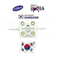 Lampu Led ANX LED Module Samsung Korea SMD5630 - 4 Mata White