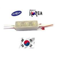 Jual Lampu Led ANX LED Module Mini Korea SMD2835 - 3 Mata  White 2