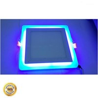 Jual Lampu LED Panel 2 Tone Colors ( 2 Warna ) 15 Watt Inbow - Square 2