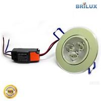 Lampu Led Downlight LED Standar 3W 220V