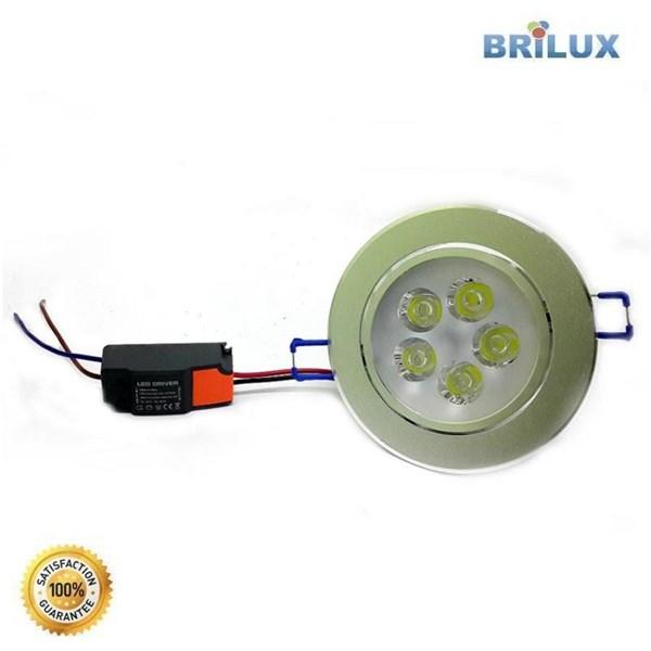 Lampu Led Downlight LED Standar 5W 220V
