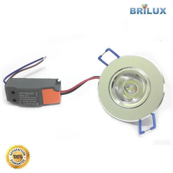 Lampu Led Downlight LED Standar 1W 220V
