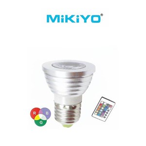 Lampu LED Cup Light Series MK-3118-3W RGB