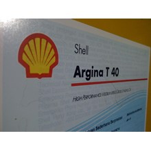 Oli Shell Argina T 40 209L Drum