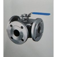 Flanged Ball Valve 3 Way KZVL51  /  KZVL52