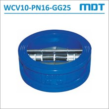Wafer Check Valve WCV10-PN16-GG25
