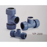 Jual Compression Tee PVC VP-200