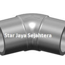 Elbow 45 Derajat Fusion Fittings HDPE