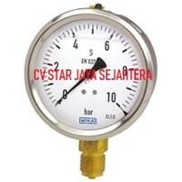 "Distributor Pressure Gauge ""WIKA""0 - 10 Bar"