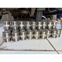 Distributor of Double Nepple Stainless Steel