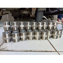 Distributor Double Nepple Stainless Steel