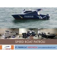 Speed Boat Patroli Fiber Seri FBI 0822 XB 1