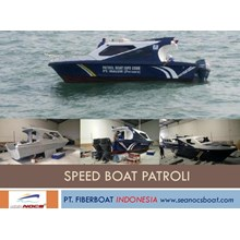 Speed Boat Patroli Fiber Seri FBI 0822 XB