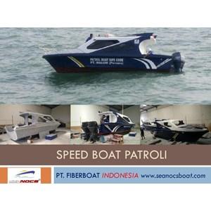 Speed Boat Patroli Fiber Seri FBI 0822 XB