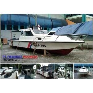 Speed Boat Patroli Fiber Seri FBI 1026 XA