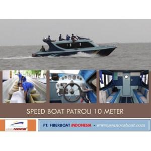Speed Boat Patroli Fiber Seri FBI 1026 XB