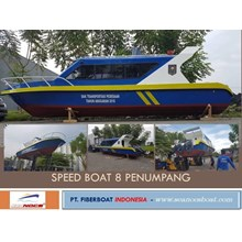 Speed Boat 8 Penumpang Seri FBI.0822.PA